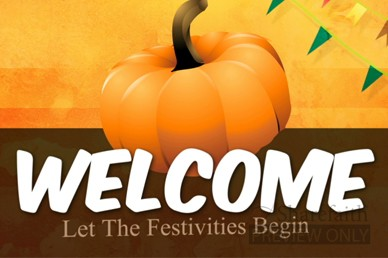 Fall Festivities Welcome Video