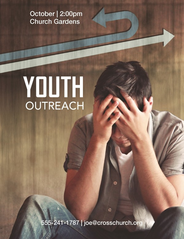 Outreach Youth Flyer Templates