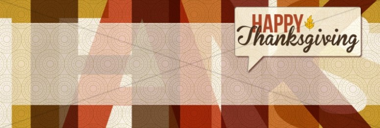 Thanksgiving Website Banner