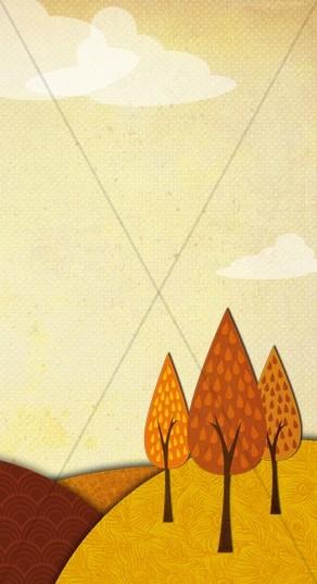 Fall Season Website Sidebar