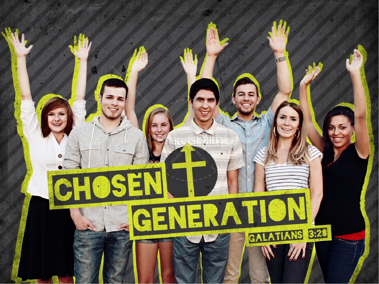 Chosen Generation PowerPoint Template