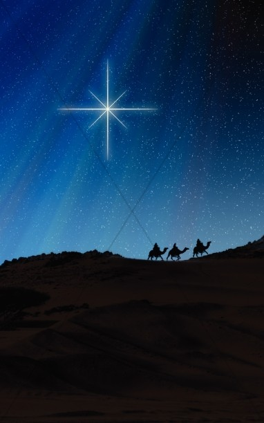 Wise Men Travel Christmas Bulletin