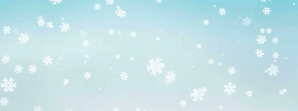 Christmas Snowflakes Triple Wide Videos