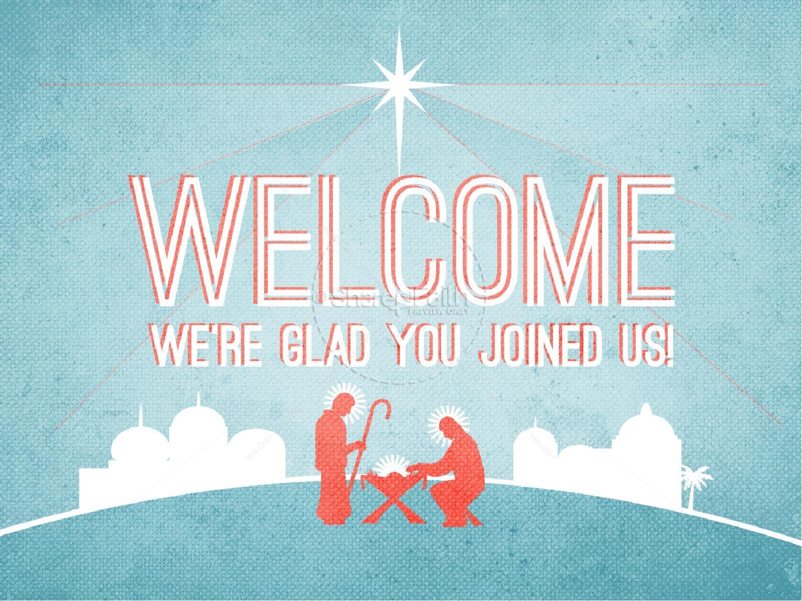 Jesus Savior of the World Christmas PowerPoint | slide 2