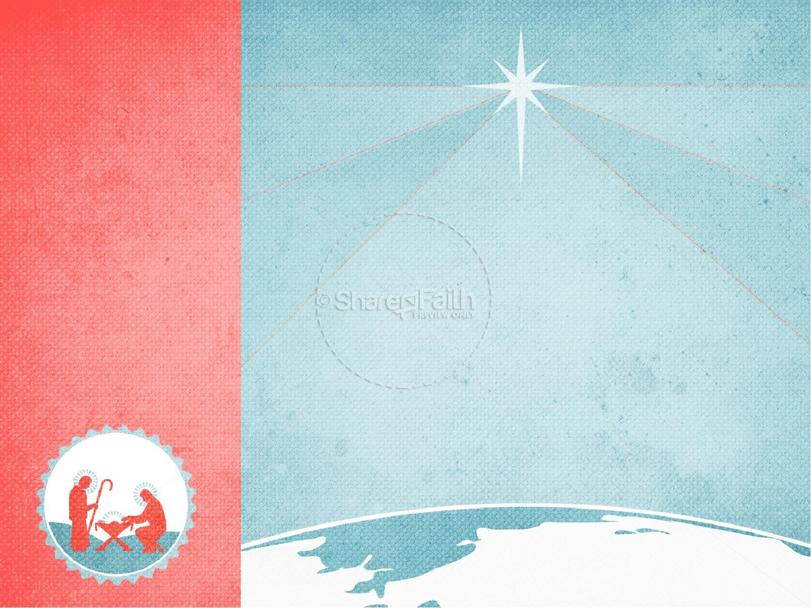 Jesus Savior of the World Christmas PowerPoint   slide 8