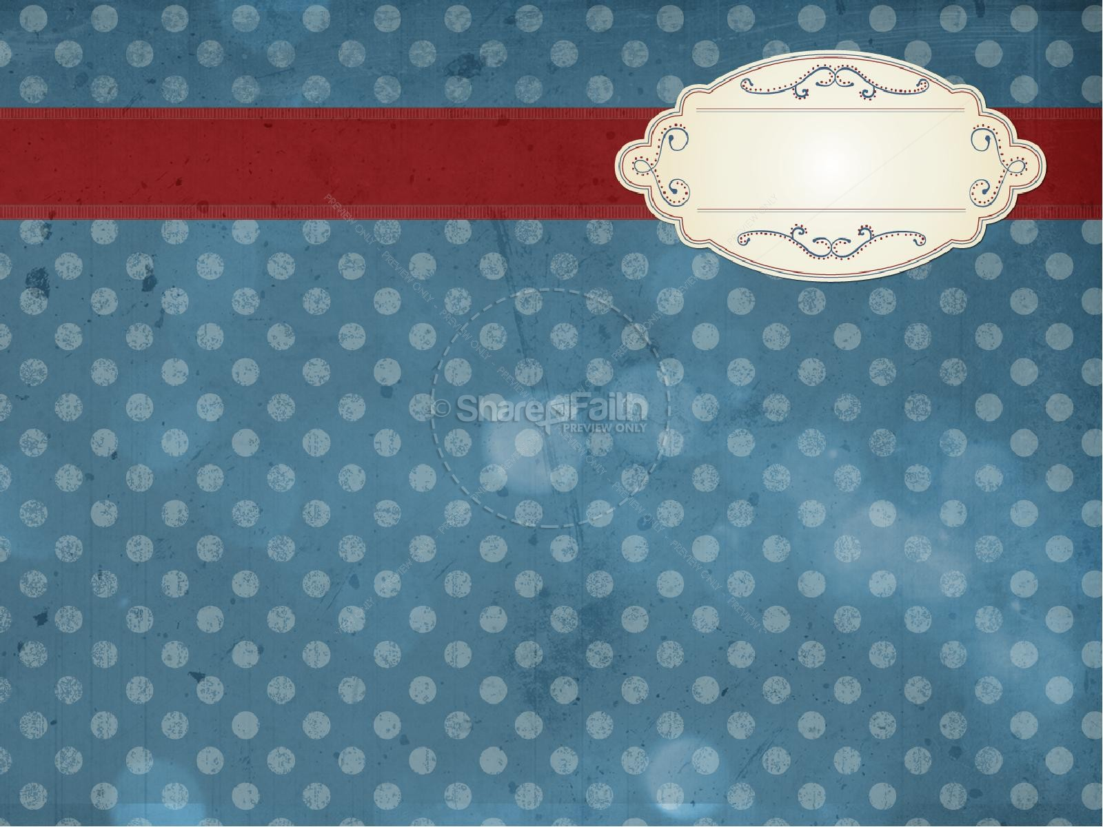 Merry Christmas PowerPoint Template for Church   slide 6