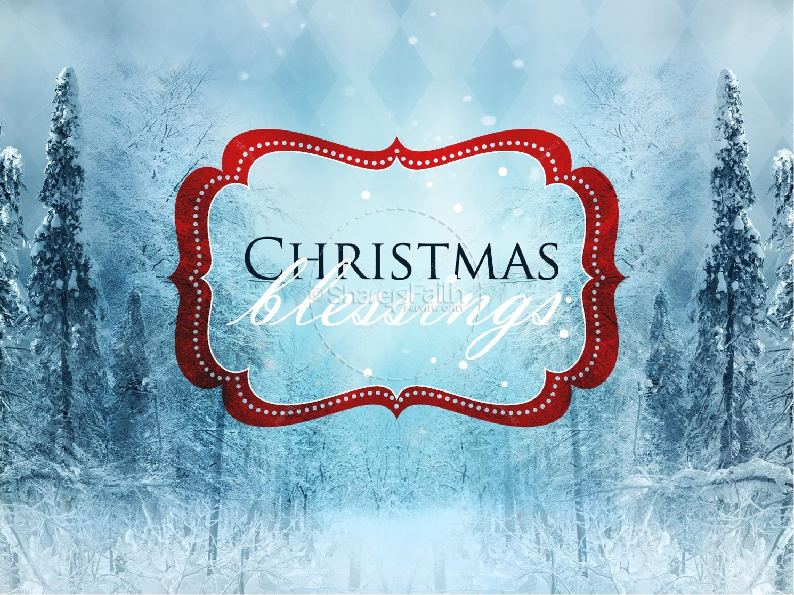 Christmas Joy To The World PowerPoint Sermon Template | slide 5