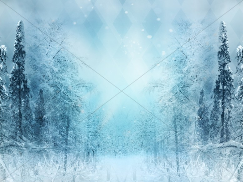 Christmas Snow Background