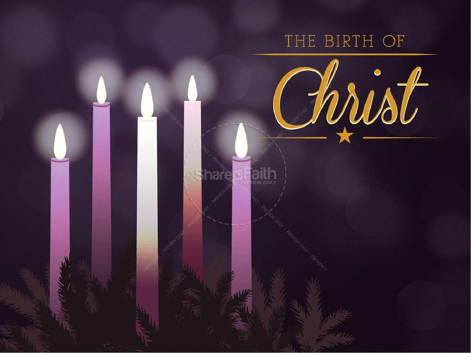 Advent background powerpoint akbaeenw celebrating advent church powerpoint template christmas powerpoints toneelgroepblik Images