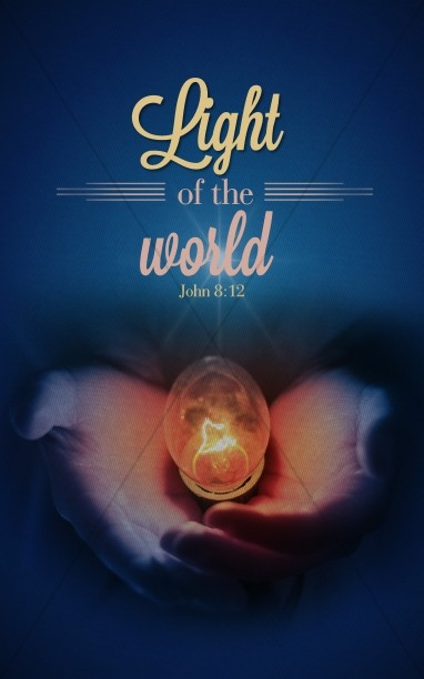 Light Of The World Christmas Bulletin Cover