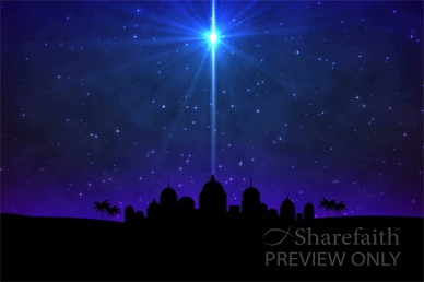 O Little Town of Bethlehem Nativity Video Loop