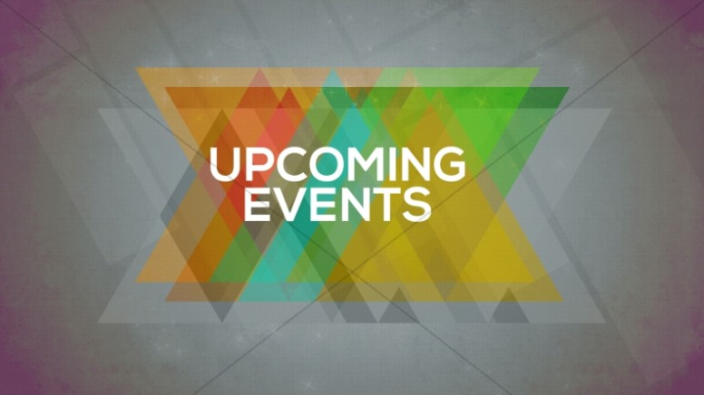 Upcoming Events Church Event Slide