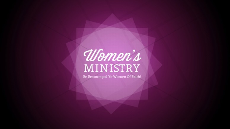 Womens Ministry Church Event Still
