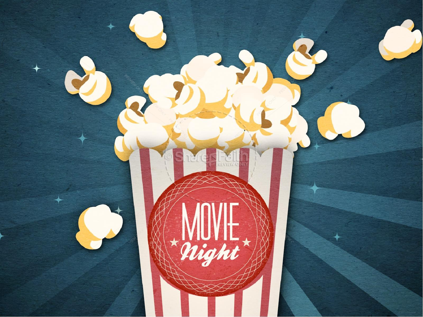 Movie Night PowerPoint