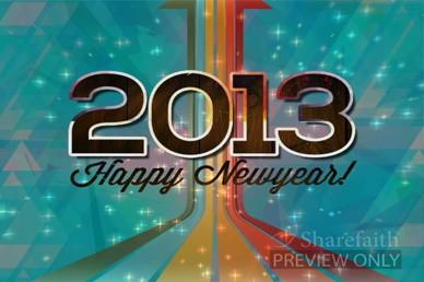 New Year Church Video Loop