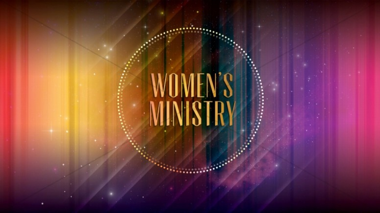 Women's Ministry Church Announcement Still