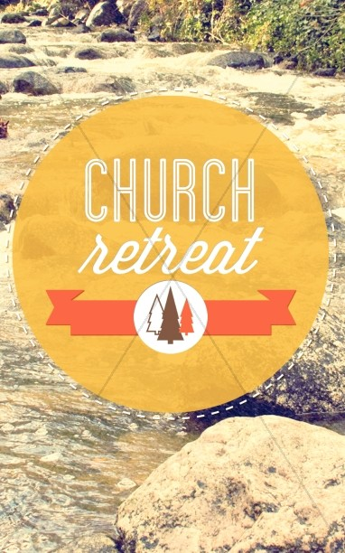 Church Retreat Bulletin Cover