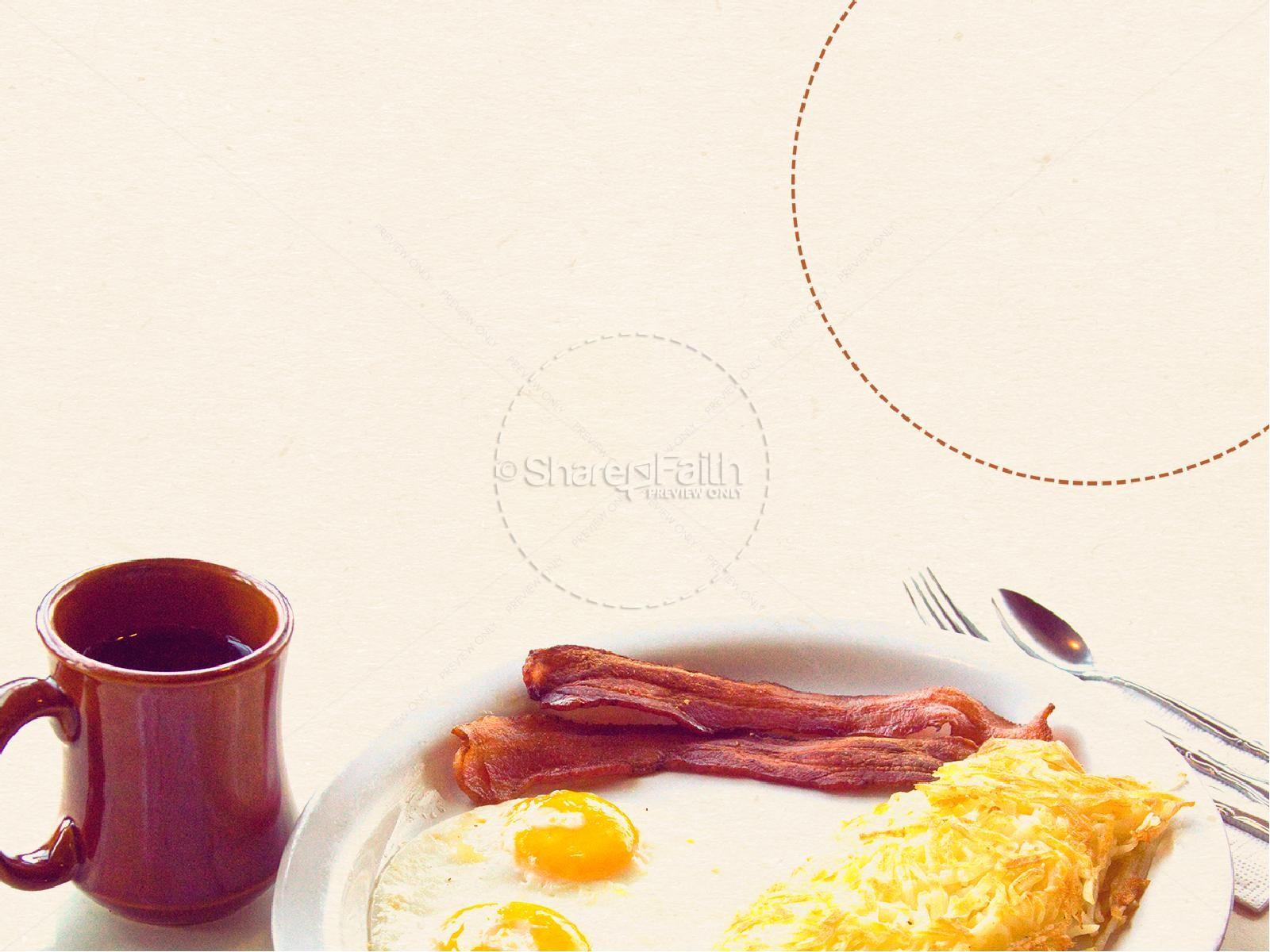 Men S Breakfast Powerpoint Template Powerpoint Sermons