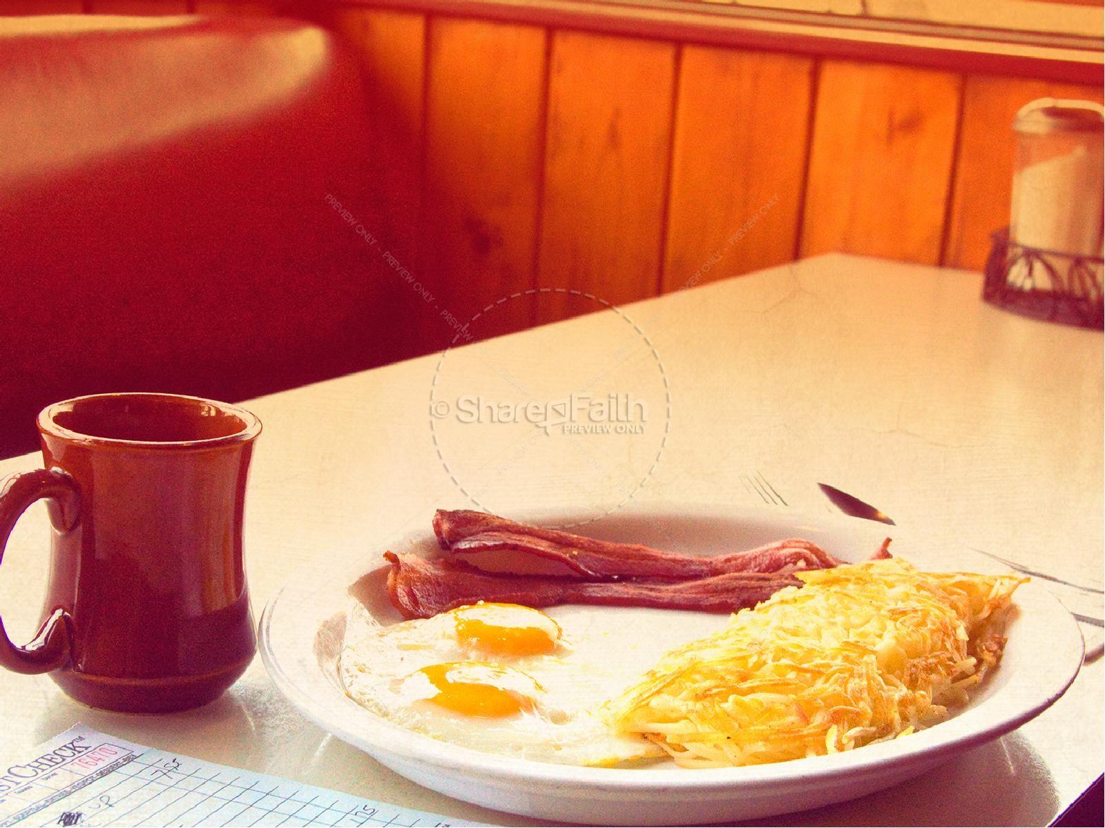 men u0026 39 s breakfast powerpoint template