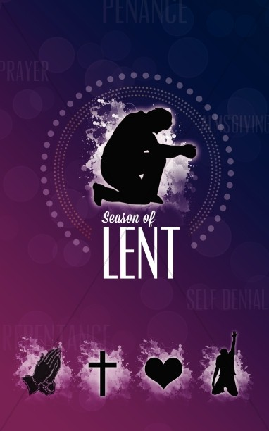 Season of Lent Church Bulletin