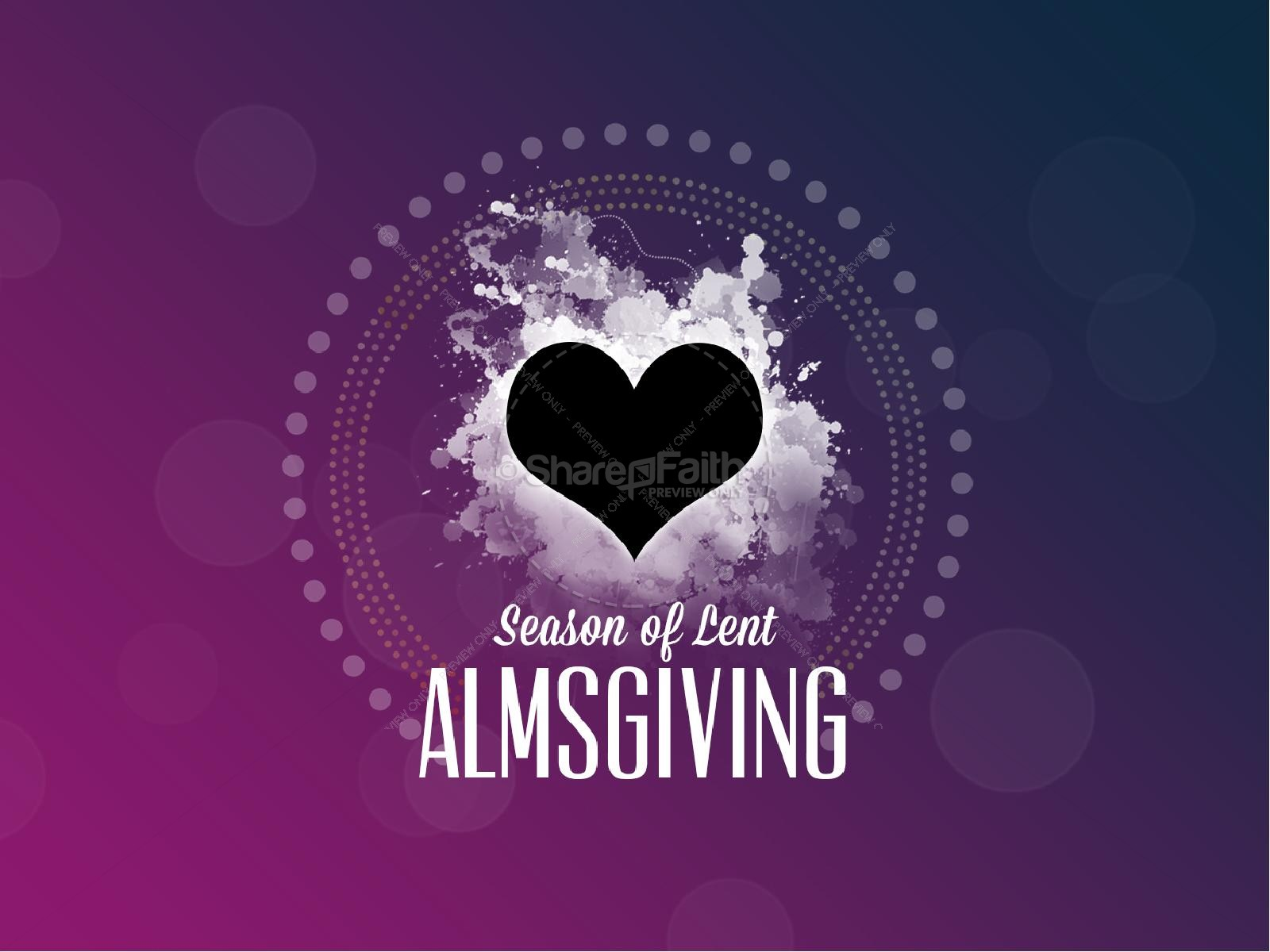 Season of Lent Almsgiving