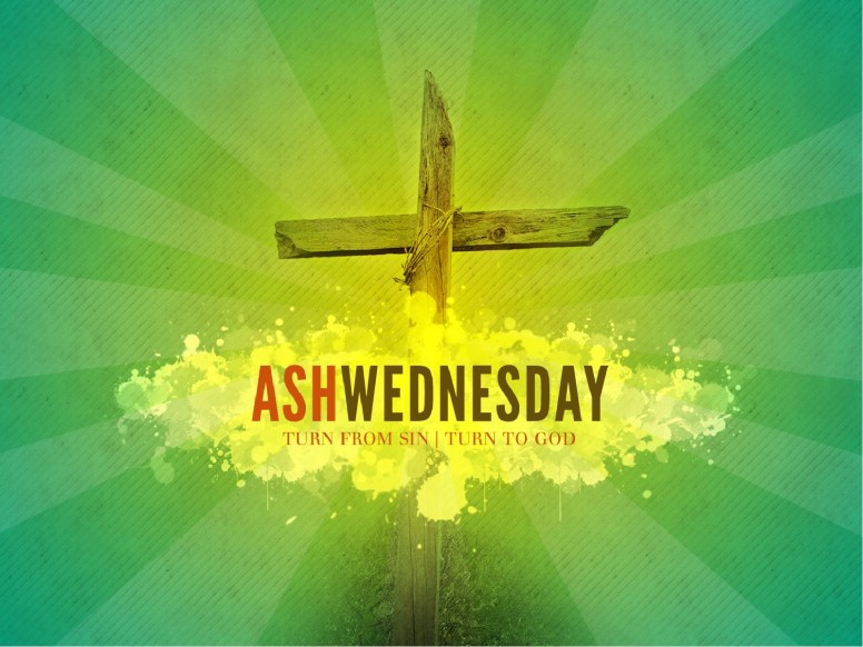 Ash Wednesday Church PowerPoint Sermon