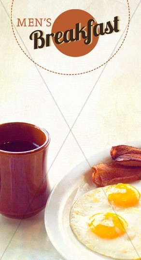 Men's Breakfast Website Sidebar