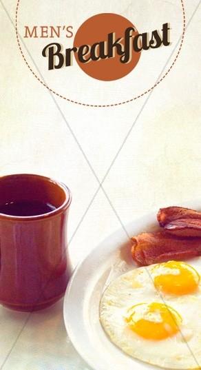 Men's Breakfast Website Sidebar