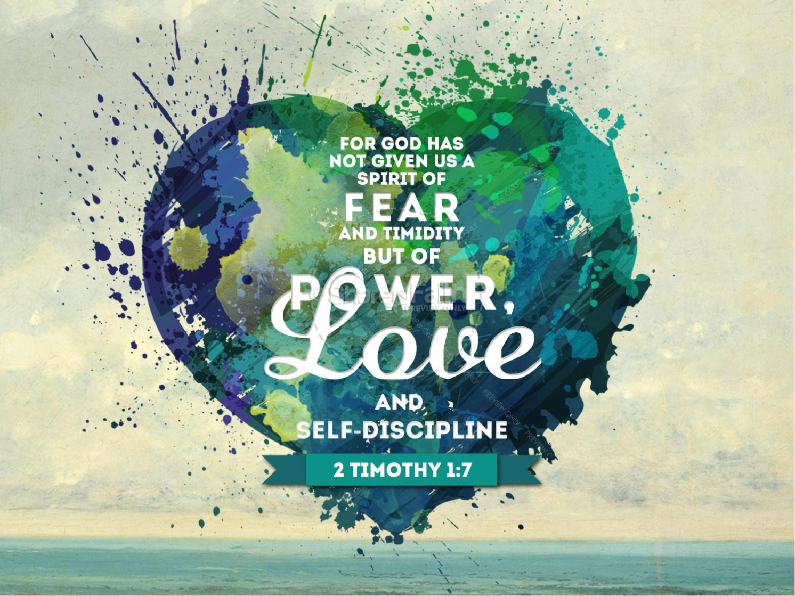 Love Conquers Fear PowerPoint Sermon