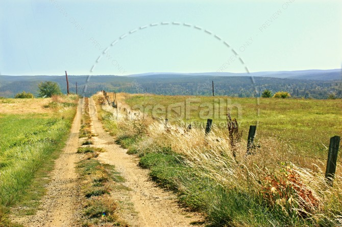 Dirt Road Christian Stock Photos