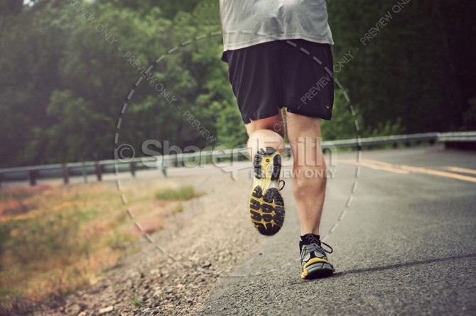 Run With Patience Religious Stock Images