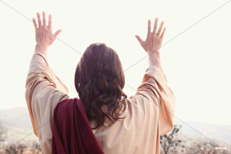 Jesus' Hands Religious Stock Photos