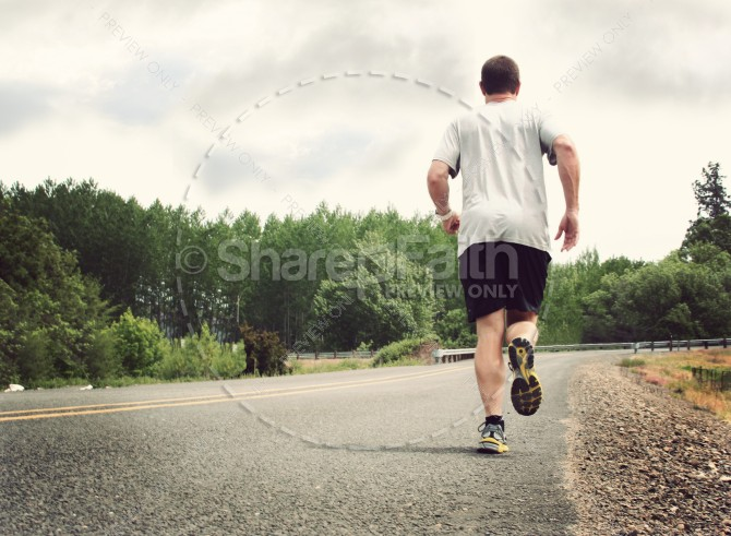 Run the Race Christian Stock Images