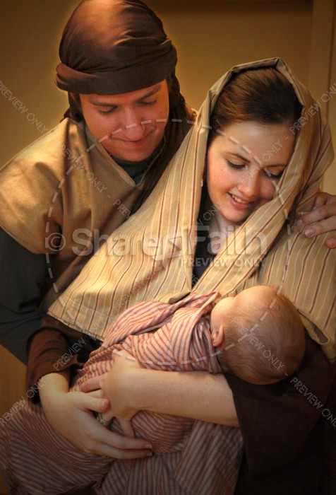 Birth of Christ Religious Stock Photos