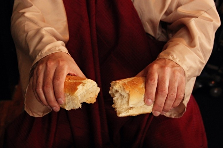 Bread of Life Christian Stock Images
