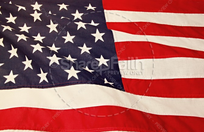American Flag Christian Stock Images