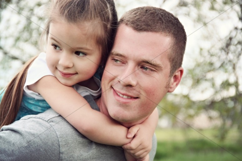 Fatherhood Religious Stock Photos