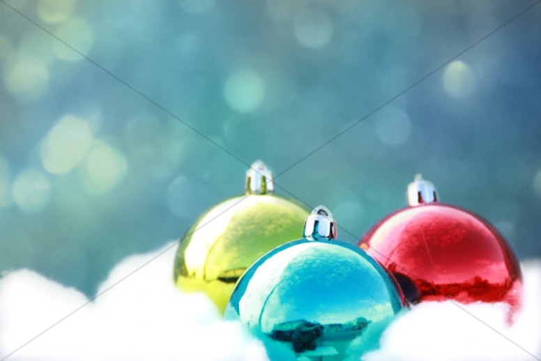 Christmas Ornaments Christian Stock Photos