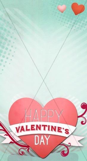 Happy Valentine's Day Website Sidebar
