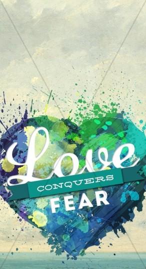 Love Conquers Fear Website Sidebar