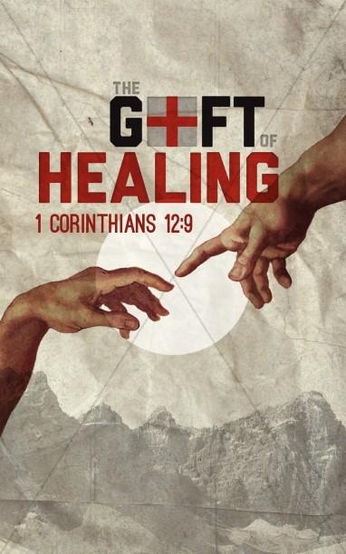 Gift of Healing Church Bulletin | Sermon Bulletin Covers