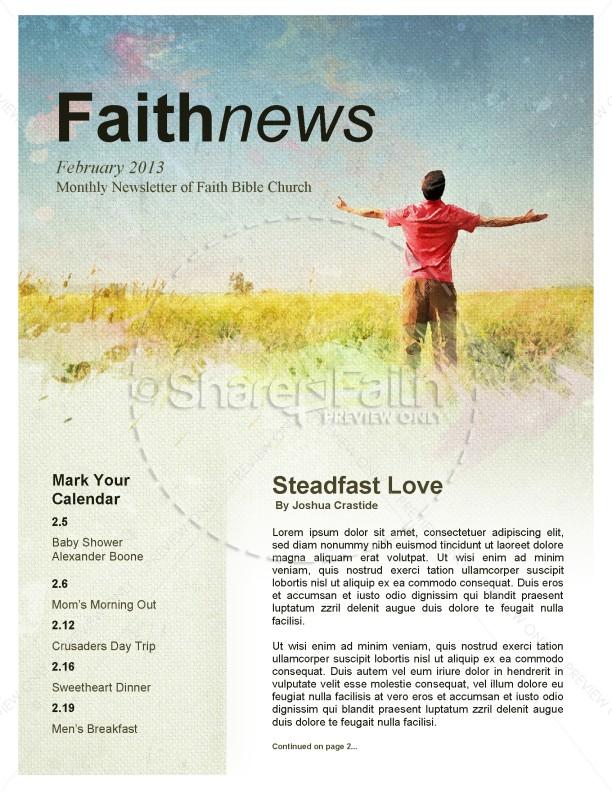 Lifted Hands Church Newsletter