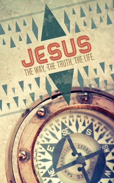 Jesus the Way Church Bulletin Cover