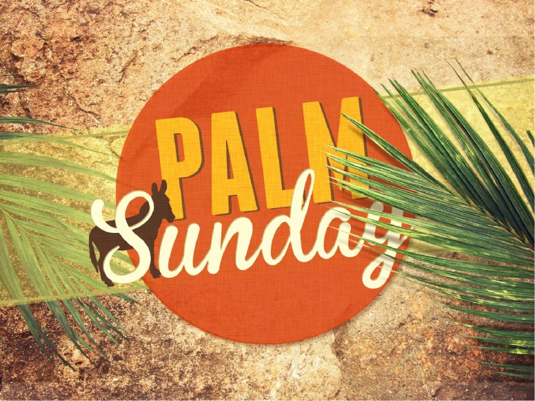 Palm Sunday Sermon PowerPoint Template