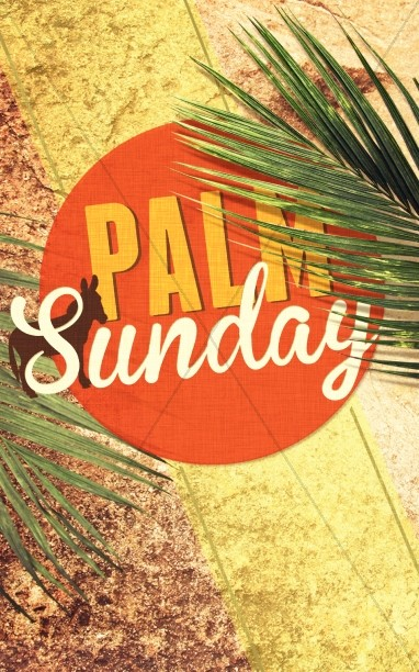 Palm Sunday Church Program Cover