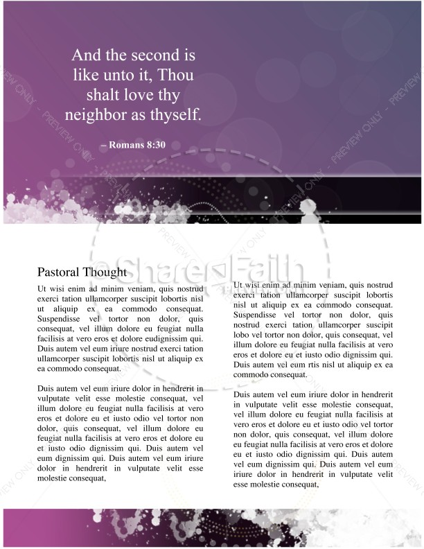 Church Lent Newsletter | page 4