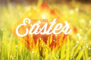 Christ Is Risen Easter Worship Loop