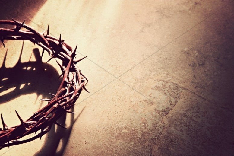 Thorn Crowns Easter Worship Background | Worship Backgrounds Empty Throne Wallpaper