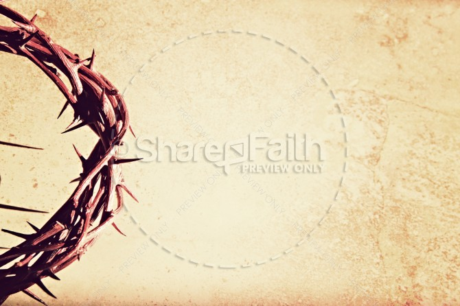 Crown of Thorns Christian Stock Photos