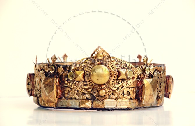 Gold Crown Stock Photo Top Christian